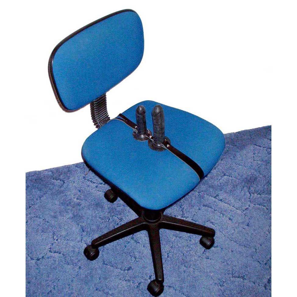 Double Dildo Chair Strap Swivel Chair | Strap on Dildo