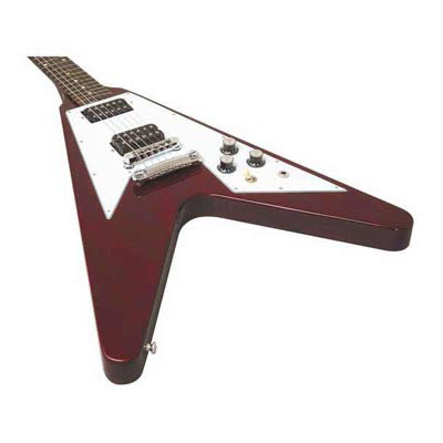 Screaming V Electric Guitar